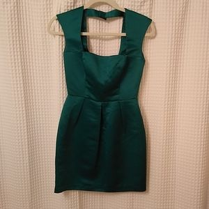ASOS Dresses - ASOS green mini dress